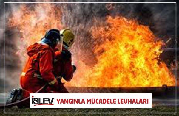 Yangınla Mücadele Levhaları